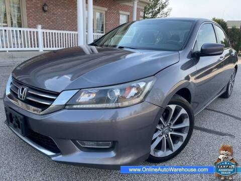 2013 Honda Accord for sale at IMPORTS AUTO GROUP in Akron OH