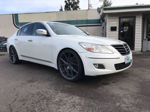 2009 Hyundai Genesis for sale at Salem Auto Market in Salem OR