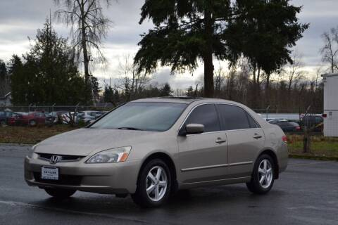 2003 Honda Accord for sale at Skyline Motors Auto Sales in Tacoma WA