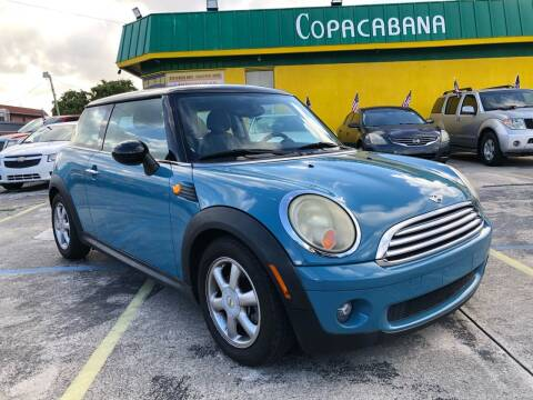 2008 MINI Cooper for sale at Trans Copacabana Auto Sales in Hollywood FL
