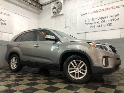 2015 Kia Sorento for sale at County Car Credit in Cleveland OH
