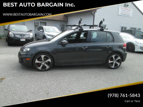 2014 Volkswagen GTI for sale at BEST AUTO BARGAIN inc. in Lowell MA