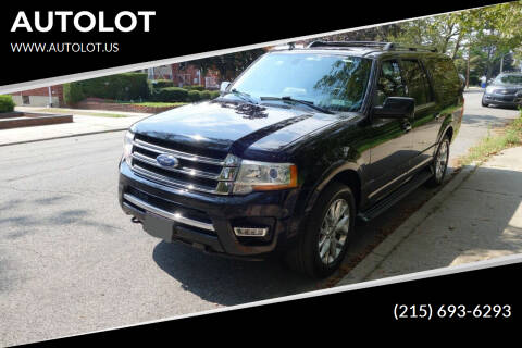 2017 Ford Expedition EL for sale at AUTOLOT in Bristol PA
