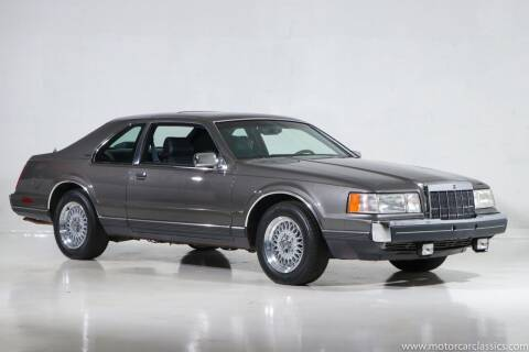 1989 Lincoln Mark VII for sale at Motorcar Classics in Farmingdale NY