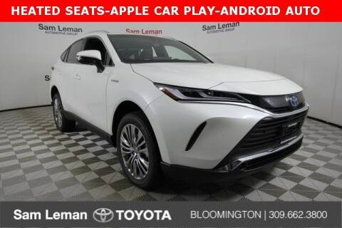 2021 Toyota Venza for sale at Sam Leman Toyota Bloomington in Bloomington IL