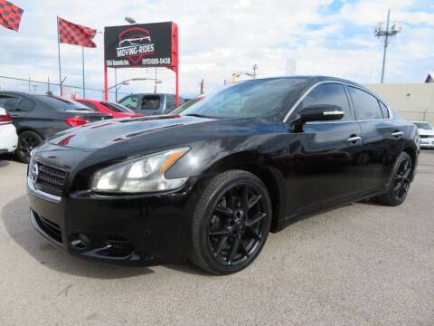 2011 Nissan Maxima for sale at Moving Rides in El Paso TX