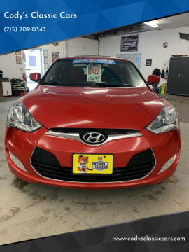 2012 Hyundai Veloster for sale at Cody's Classic Cars in Stanley WI