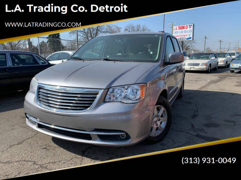 2013 Chrysler Town and Country for sale at L.A. Trading Co. Detroit in Detroit MI