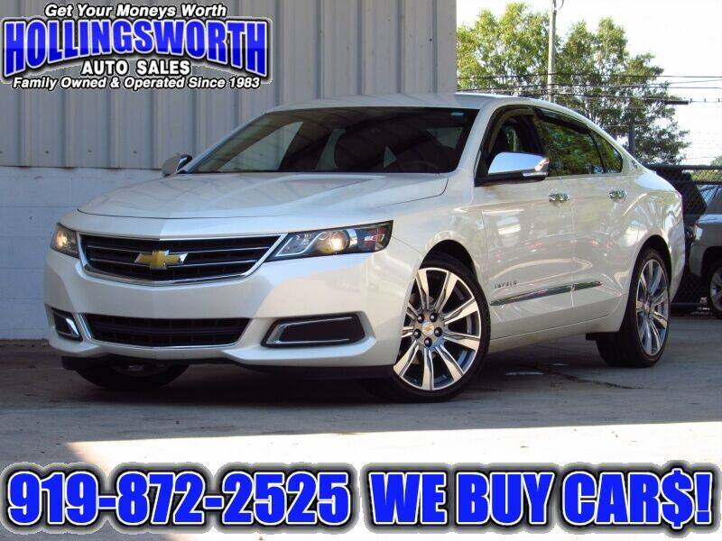 2014 Chevrolet Impala for sale at Hollingsworth Auto Sales in Raleigh NC
