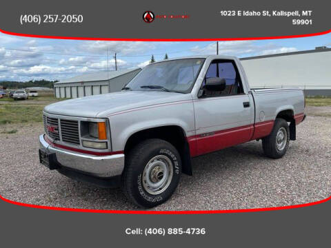 1989 GMC Sierra 1500 for sale at Auto Solutions in Kalispell MT