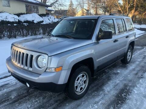2015 Jeep Patriot for sale at Urban Motors llc. in Columbus OH