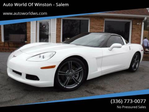 2011 Chevrolet Corvette for sale at Auto World Of Winston - Salem in Winston Salem NC