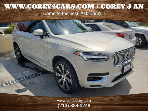 2020 Volvo XC90 for sale at WWW.COREY4CARS.COM / COREY J AN in Los Angeles CA