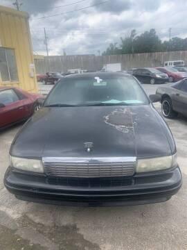 1995 Chevrolet Caprice for sale at J D USED AUTO SALES INC in Doraville GA