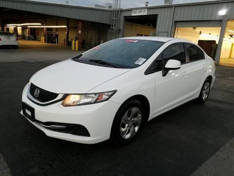 2013 Honda Civic for sale at ATLANTIC MOTORS GP LLC in Houston TX