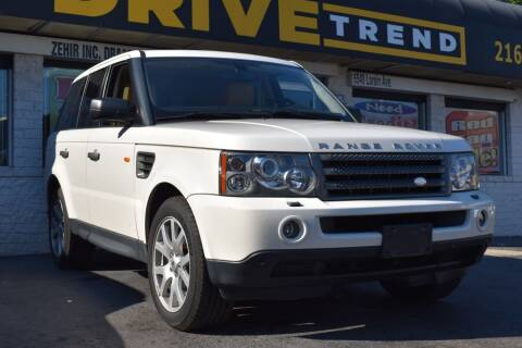 2008 Land Rover Range Rover Sport for sale at DRIVE TREND in Cleveland OH