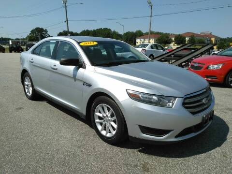 2013 Ford Taurus for sale at Kelly & Kelly Supermarket of Cars in Fayetteville NC