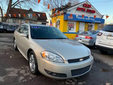 2011 Chevrolet Impala for sale at C & M Auto Sales in Detroit MI