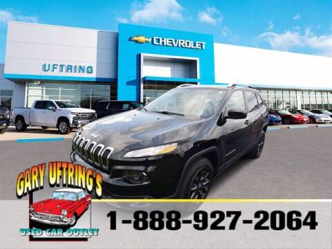 2018 Jeep Cherokee for sale at Gary Uftring's Used Car Outlet in Washington IL