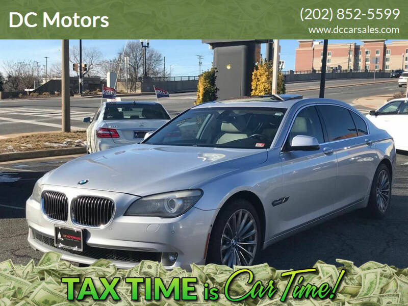 2011 BMW 7 Series for sale at DC Motors in Springfield VA