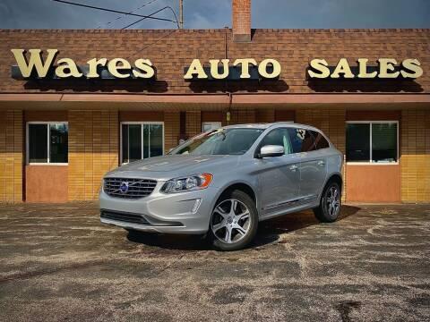 2015 Volvo XC60 for sale at Wares Auto Sales INC in Traverse City MI