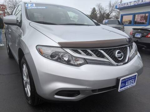 2012 Nissan Murano for sale at GREAT DEALS ON WHEELS in Michigan City IN