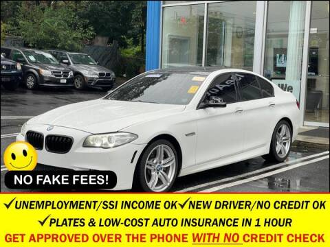 2015 BMW 5 Series for sale at AUTOFYND in Elmont NY