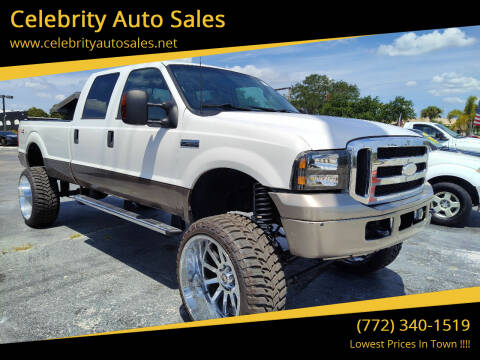 2006 Ford F-350 Super Duty for sale at Celebrity Auto Sales in Port Saint Lucie FL