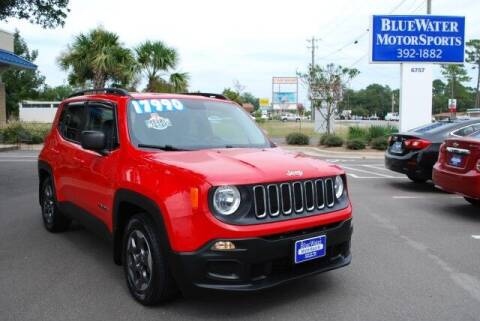 2017 Jeep Renegade for sale at BlueWater MotorSports in Wilmington NC