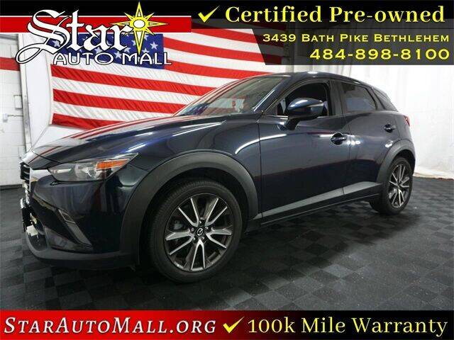 2017 Mazda CX-3 for sale at STAR AUTO MALL 512 in Bethlehem PA
