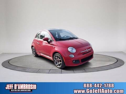 2013 FIAT 500 for sale at Jeff D'Ambrosio Auto Group in Downingtown PA