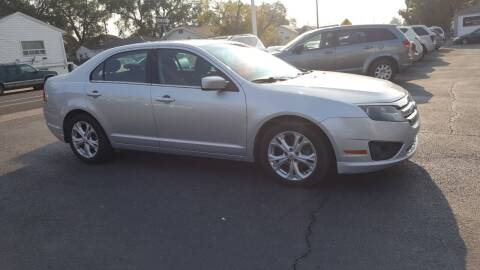 2012 Ford Fusion for sale at BRAMBILA MOTORS in Pocatello ID