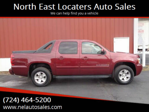 2008 Chevrolet Avalanche for sale at North East Locaters Auto Sales in Indiana PA