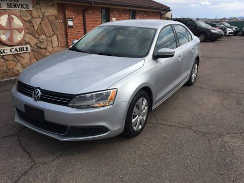 2013 Volkswagen Jetta for sale at STATEWIDE AUTOMOTIVE LLC in Englewood CO