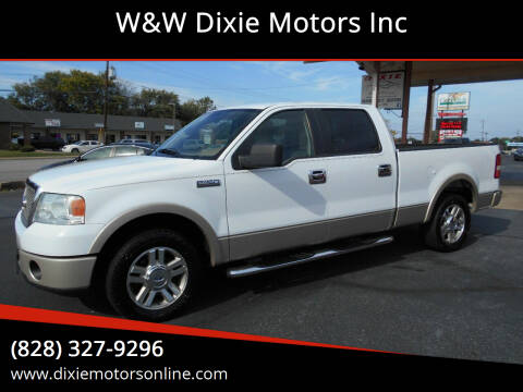 2007 Ford F-150 for sale at W&W Dixie Motors Inc in Hickory NC