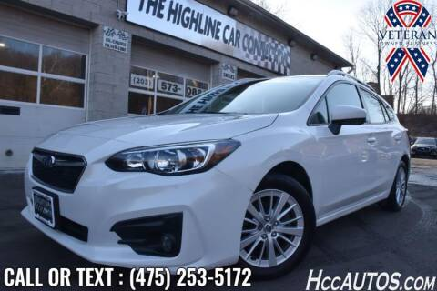 2017 Subaru Impreza for sale at The Highline Car Connection in Waterbury CT