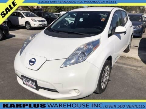 2015 Nissan LEAF for sale at Karplus Warehouse in Pacoima CA