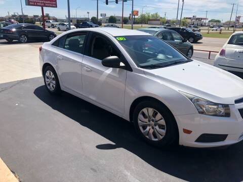 2012 Chevrolet Cruze for sale at Moore Imports Auto in Moore OK