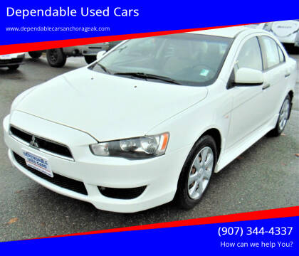 2013 Mitsubishi Lancer for sale at Dependable Used Cars in Anchorage AK