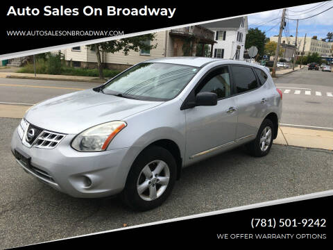 2012 Nissan Rogue for sale at Auto Sales on Broadway in Norwood MA