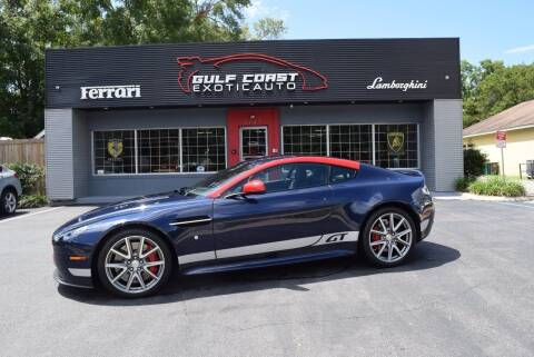 2015 Aston Martin V8 Vantage for sale at Gulf Coast Exotic Auto in Biloxi MS