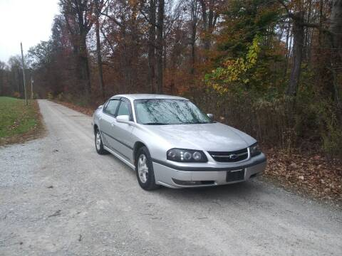 2003 Chevrolet Impala for sale at Doyle's Auto Sales and Service in North Vernon IN