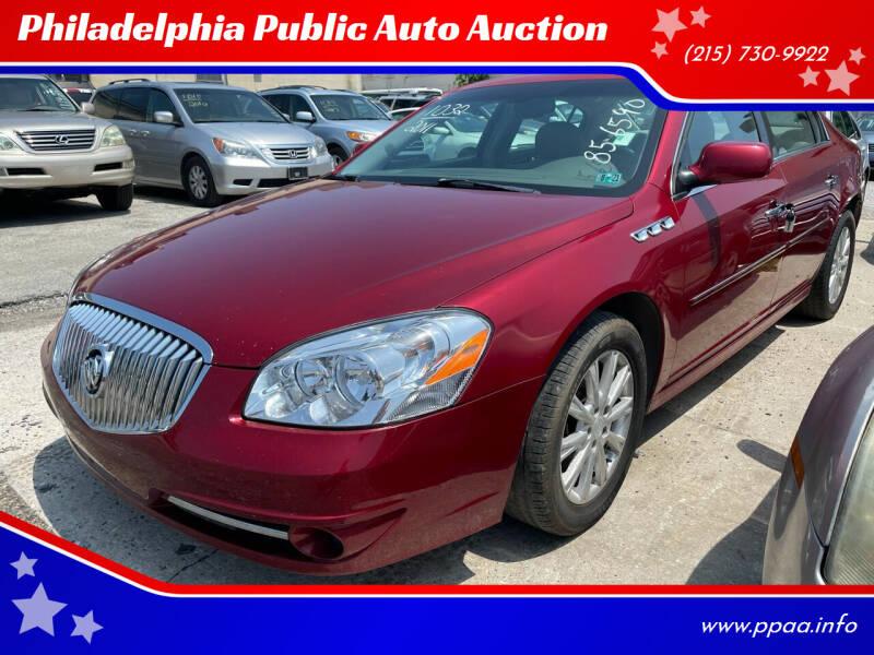 2011 Buick Lucerne for sale at Philadelphia Public Auto Auction in Philadelphia PA