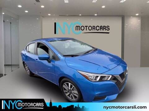 2020 Nissan Versa for sale at NYC Motorcars in Freeport NY
