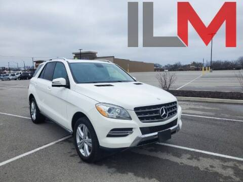 2014 Mercedes-Benz M-Class for sale at INDY LUXURY MOTORSPORTS in Fishers IN