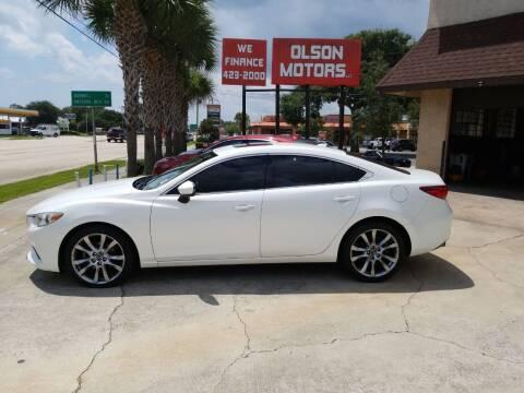 2016 Mazda MAZDA6 for sale at Olson Motors LLC in Saint Augustine FL