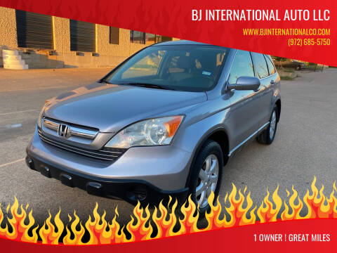 2008 Honda CR-V for sale at BJ International Auto LLC in Dallas TX