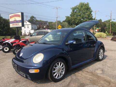 2004 Volkswagen New Beetle for sale at Beachside Motors, Inc. in Ludlow MA