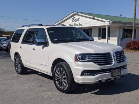 2015 Lincoln Navigator for sale at Best Used Cars Inc in Mount Olive NC