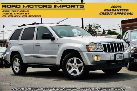 2005 Jeep Grand Cherokee for sale at Road Motors Imports in El Cajon CA